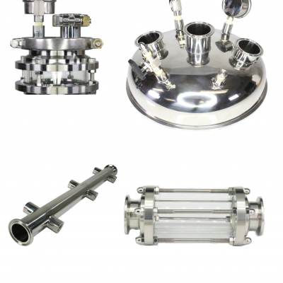 Sight Glasses / Caps and Manifolds