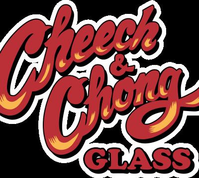 Cheech and Chong Glass