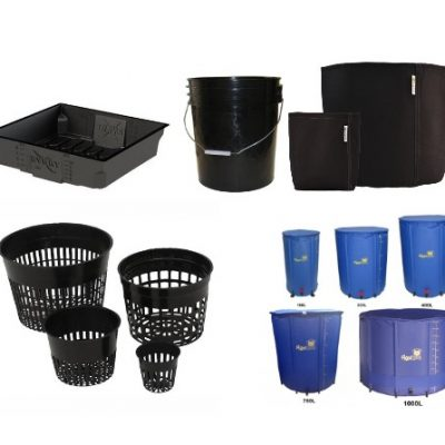 Pots, Containers & Reservoirs